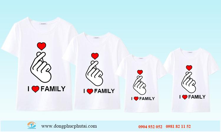 Áo cặp cho gia đình