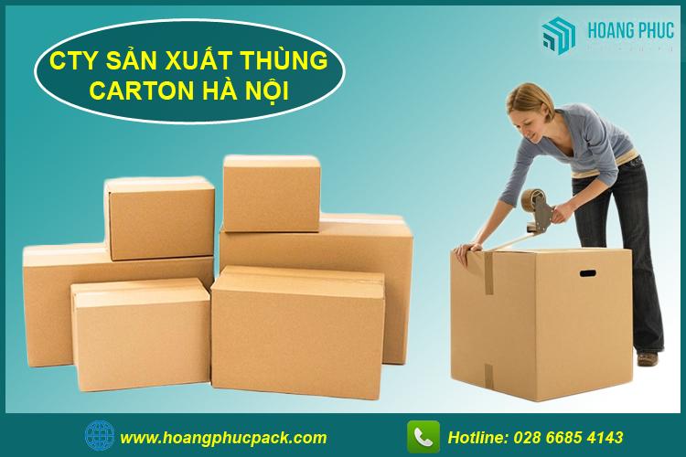 Công ty sản xuất thùng carton tại hà nội