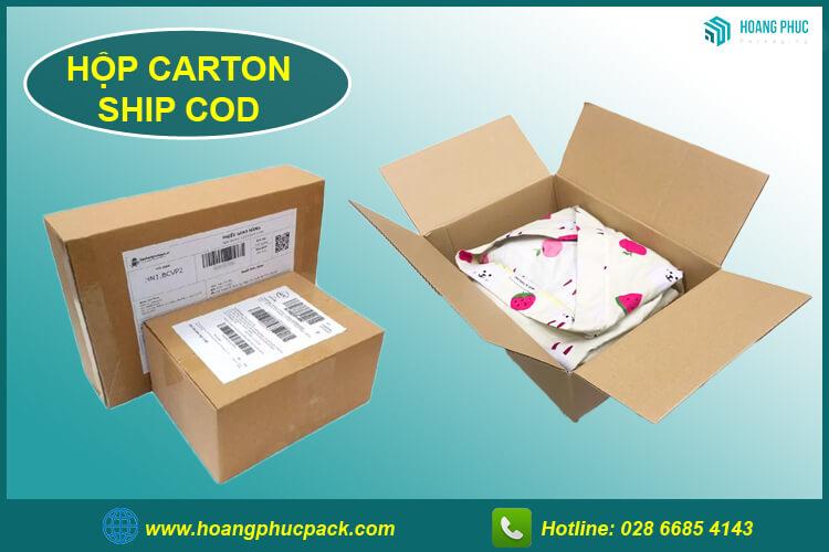 Hộp carton ship cod